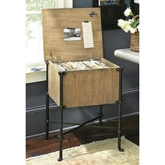 Directoire File Cabinet - really unique file storage for your home office
