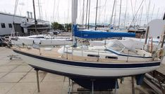 The Hallberg Rassy Used Sailboats, For Less, Sailing Ships, Nautical, Building, Butterfly, Dreams, Crystal, Design
