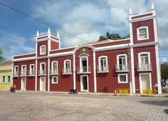 Aracati, Ceará - Brasil - antiga Casa de Câmara e Cadeia, atual prefeitura