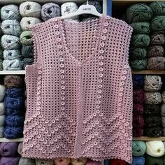 We have compiled 100 crochet baby vest pattern samples. See all of 40 crochet baby vest patterns. Browse lots of Free Crochet Patterns. Pull Crochet, Crochet Coat, Crochet Girls, Crochet Baby Booties, Crochet Clothes, Free Crochet, Knitting For Kids, Baby Knitting Patterns, Crochet Patterns