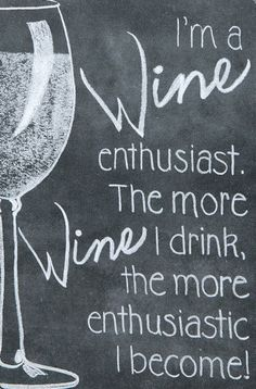 Wine Enthusiast Chalkboard Sign Premium wines delivered to your door. Get wine. Get social.