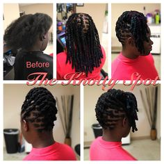 Loc Re-Attachment Styled By: Maquita James Call (803)-237-1894 or Book a consultation online at: www.styleseat.com/theknottyspot #locextensions #dreads #dreadextensions #locs #dreadlocks #extensions #locks #theknottyspot #masterloctician #dreadlockextentions #locreplacement #dreadlockextensions #locrepair #locreattachment #locrestoration #locreattatched #color #loccolor Dreadlock Rasta, Dreadlock Extensions, Dreads Styles, Printed Dresses, Lock Style, Dreadlock Hairstyles, New Journey, Box Braids, Natural Hair Styles