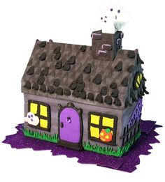 Creativity for Kids - Create With Clay Haunted House - Educational Toys Spooky Halloween Crafts, Halloween Goodies, Halloween Treats, Halloween Decorations, Craft Kits For Kids, Crafts For Kids, Craft Ideas, Project Ideas, Creative Arts And Crafts