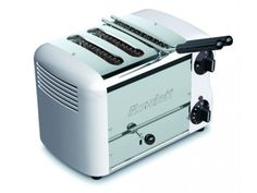 Rowlett Esprit 3 Slice Single Brunch Toaster in White - Toasters - Electronics
