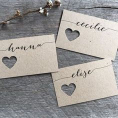 Wedding Fork Place Cards Wedding Place Cards by LaPommeEtLaPipe - # ho… - wedding ideas - Tischkarten Hochzeit - Wedding Places, Wedding Place Cards, Wedding Table, Diy Wedding, Wedding Day, Wedding Favors, Wedding Quotes, Wedding Things, Wedding Bells