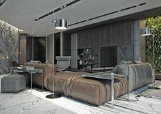 Wohnzimmer mit braunen Sofas: Tipps und Inspiration für die ...