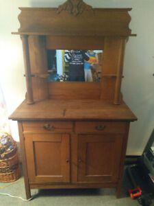 Meuble Buffet Antique Centenaire Kijiji Home Decor Liquor Cabinet