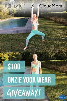 The goddess pose of vinyasa flow yoga in Onzie's yoga wear plus a giveaway.