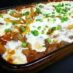 Miles of Mozzarella Baked Mostaccioli Allrecipes.com ~ Recipe Group ...