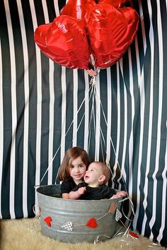 Hot Air balloon prop, cute for valentines day