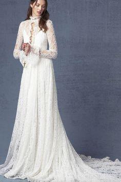 Featured Dress: ODYLYNE; Wedding dress idea.