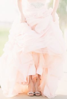 #blush gown | Honey Honey Photography