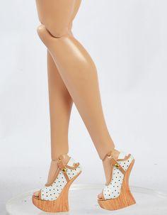 "Sales 16"" Doll Sybarite /Ficon /Modsdoll/ Gene/AVANTGUARDS 46MM Sandals/Shoes 11"