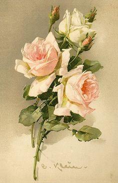 Alenquerensis: Catherine Klein (1861 - 1929) - A pintora das rosas / Catherine Klein painter of roses.