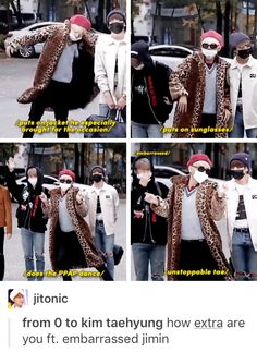 I bet you he lost a bet<<< nope that's just taetae. he would just do it for the fun of it