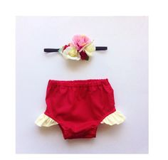 My First Valentine's Day, Baby Girl Red Bloomer, Diaper Cover, Nappy Cover, Ruby Red, Newborn - 24 months, FREE AU SHPPING!