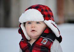 Snow Baby, Winter Baby, Cute Boy