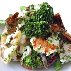 Coconut Lemongrass Shrimp w. Shiitake and Broccoli