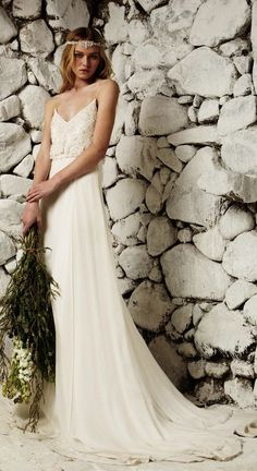 Wedding dress idea; Featured Dress: Bo & Luca
