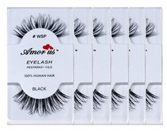 Amorus 100% Human Hair False Eyelashes wsp (6 Pack) Compare Red Cherry -- Check out this great product.
