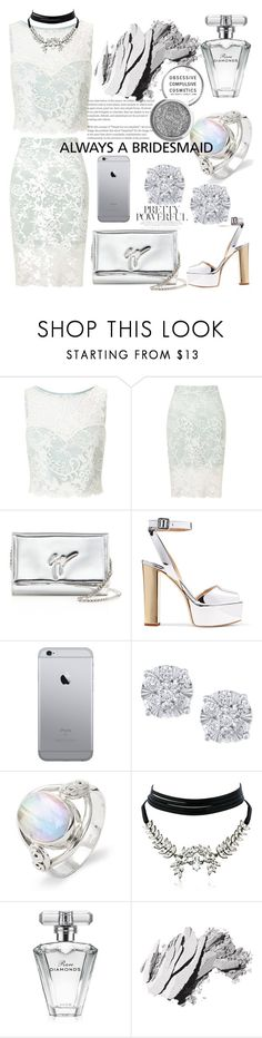 """""""Untitled #38"""" by smuxe ❤ liked on Polyvore featuring Miss Selfridge, Giuseppe Zanotti, Effy Jewelry, WithChic, Avon, Bobbi Brown Cosmetics and Obsessive Compulsive Cosmetics"""