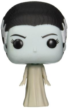Universal Monsters - Bride of Frankenstein Action Figure Funko did it again! Check out the other Pop! Funko Pop Toys, Funko Pop Figures, Vinyl Figures, Action Figures, Universal Monsters, Disney Play, Amazing Pumpkin Carving, Pop Collection, Bride Of Frankenstein