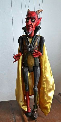 The Inconsistent Devil by Axa Marionettes.