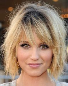 Turn your traditional bob into a trendy tousled 'do with some product and a hit tool...ask us how!