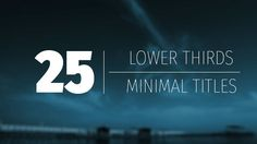 Minimal Titles and Lower Thirds (Corporate) #Envato #Videohive #aftereffects