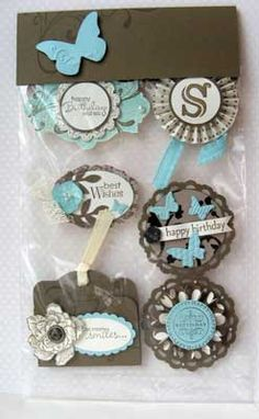 Card Candy... Embellishments.  I have seen swaps at SU convention.  I love the idea.