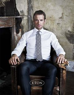 Eton Shirts - never iron or dryclean - the technology is in the threads