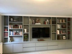 Tv storage unit tv shelving, tv shelf, wall shelving units, shelving id Living Room Tv Cabinet, Living Room Bookcase, Living Room Wall Units, Living Room Built Ins, Living Room Storage, Home Living Room, Living Room Designs, Bedroom Storage, Ikea Bedroom