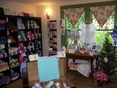 home turned yarn shop