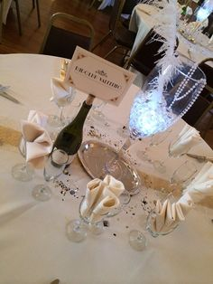 Great Gatsby Centerpieces by SarahJayDesign on Etsy, $30.00