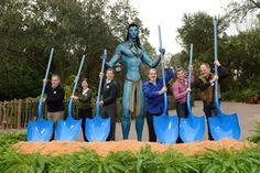 Neue AVATAR-Land in Disney's Animal Kingdom Park Florida