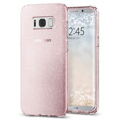 Galaxy S8 Plus Case Liquid Crystal Glitter