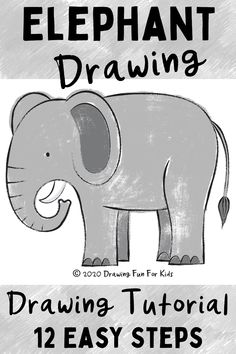 In this easy drawing tutorial, you will learn how to draw an elephant by following 12 easy steps. Check out this blog post to see the illustrated steps to create this elephant drawing. This drawing lesson is perfect for kids of all ages, and adults who want to learn how to draw. Great for toddlers, preschool and prek, kindergarten, grade 1, grade 2, and grade 3. #learndrawing #learnhowtodraw #drawinglessons #learntodraw #drawingideas #kidsdrawing #kidshowtodraw Drawing Lessons For Kids, Easy Drawings For Kids, Grade 1 Art, Grade 2, Elephant Drawing For Kids, Fun Learning, Teaching Kids, Drawing Activities, Toddler Art