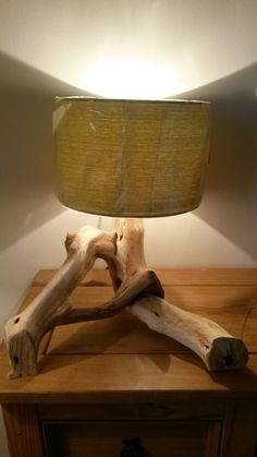 New bespoke lamp! Handmade by Branch Out, for more go to - www.facebook.com/branchoot
