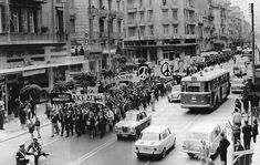 Εγνατία, 1964. Η πρώτη πορεία ειρήνης.-Τσιμισκή με Π.Π Γερμανού