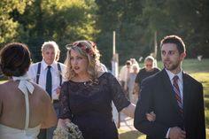 DIY flower crown  Wedding in Hot Springs Village, AR