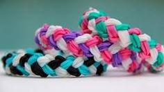 Rainbow Loom Double Braid - YouTube