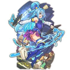 【ラスピリ】アクア(このすばコラボ)の評価・ステータス - Gamerch