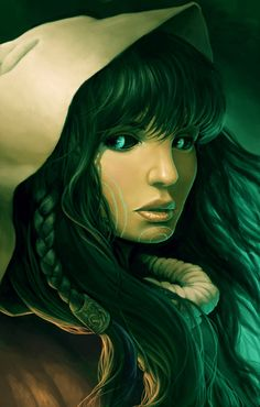 Ari by GaryLaibArt on deviantART -They rushed silently, glancing over their shoulders in turn. Perhaps it was the news of her past sinking in, or that the corridor seemed too quiet, but Ariana had the distinct feeling they were being watched.
