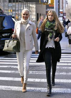 Yolanda Foster Decorates Daughter Gigi's NYC Apartment