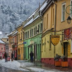 Romania Travel Inspiration - Winter days in Braşov, Transylvania, Romania Places Around The World, Oh The Places You'll Go, Places To Visit, Around The Worlds, Bulgaria, Beautiful World, Beautiful Places, Beautiful Scenery, Amazing Places