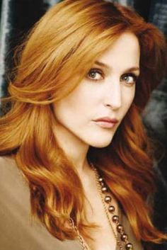 Gillian Anderson, X-Files ginger!