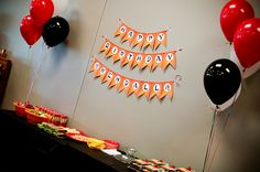 Samurai Birthday Party Decor | BabyRabies.com #birthday #boybirthday #4thbirthday #party