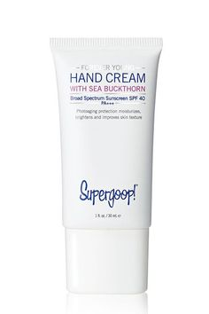 An SPF Hand Cream  People also say that SK-II, a line based on a sake-derived essence known as Pitera, was discovered by chance when a group of scientists noticed that the brewers' hands were noticeably smoother and softer than their complexions.