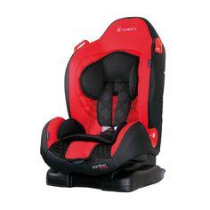 Accesorii bebelusi :: Scaune auto :: Scaune auto 9-25 kg :: Scaun auto SANTINO ONLY cu ISOFIX Red Coletto
