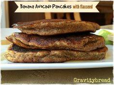 banana-avocado-pancakes